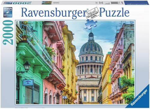 Kleurrijk Cuba Puzzel (2000 stukjes)