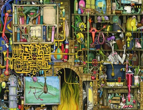 The Loopy Laboratory Puzzel (2000 stukjes)-2
