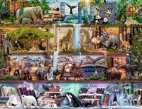 Gigantische Dierenwereld - Aimee Stuart Puzzel (2000 stukjes)-2