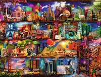 Wereld van de Boeken Puzzel (2000 stukjes)-2