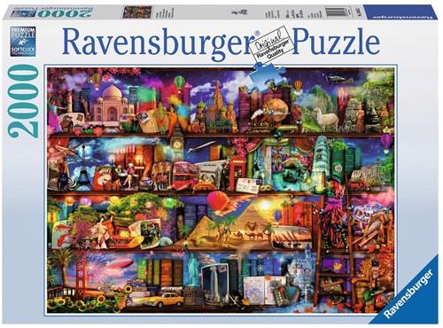 Wereld van de Boeken Puzzel (2000 stukjes) (doos beschadigd)