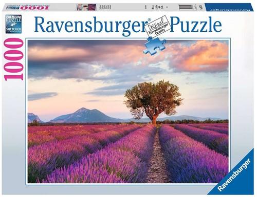 Lavendel Velden Puzzel (1000 stukjes)