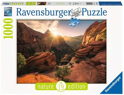Zion Canyon USA Puzzel (1000 stukjes)