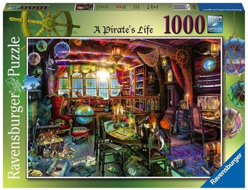 Piratenleven Puzzel (1000 stukjes)