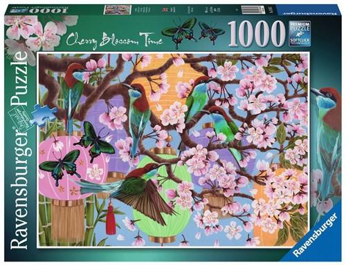 Kersenboom in Bloei Puzzel (1000 stukjes)