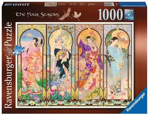 De Vier Seizoenen Puzzel (1000 stukjes)
