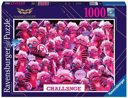 Challenge Puzzel - Masked Singer (1000 stukjes)