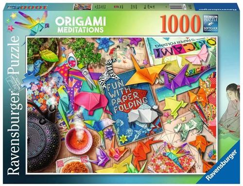 Mindful Origami Puzzel (1000 stukjes)