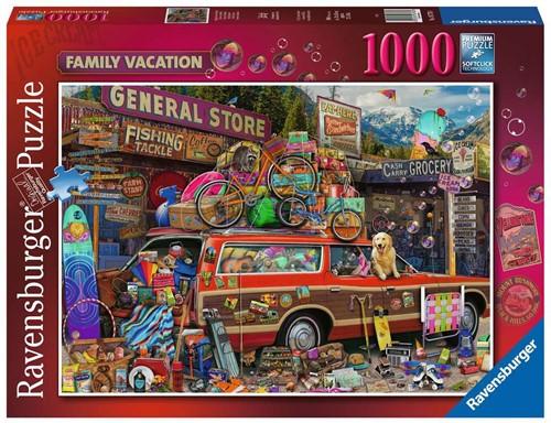 Familievakantie Puzzel (1000 stukjes)