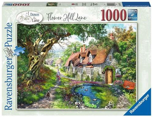 Flower Hill Lane Puzzel (1000 stukjes)