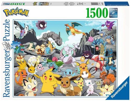 Pokemon Classics Puzzel (1500 stukjes)