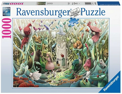 De Geheime Tuin Puzzel (1000 stukjes)