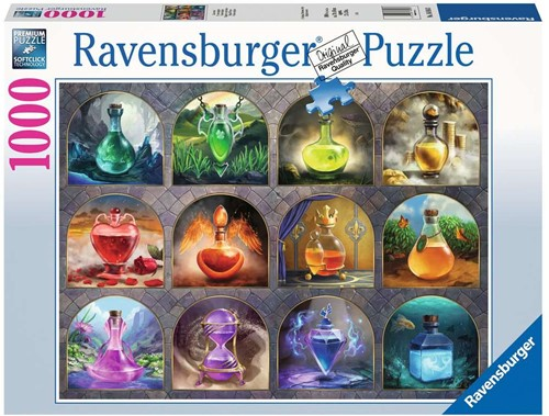 Magische Toverdranken Puzzel (1000 stukjes)