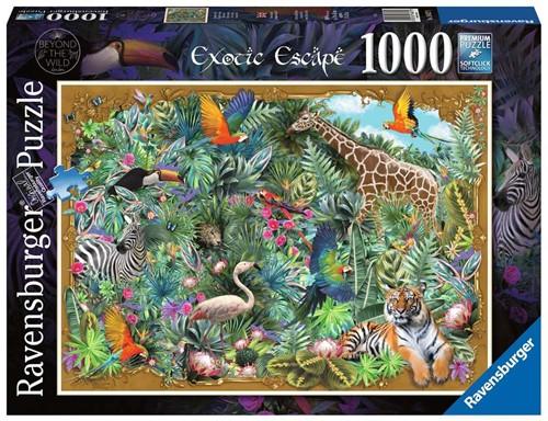 Exotisch Plaatje Puzzel (1000 stukjes)