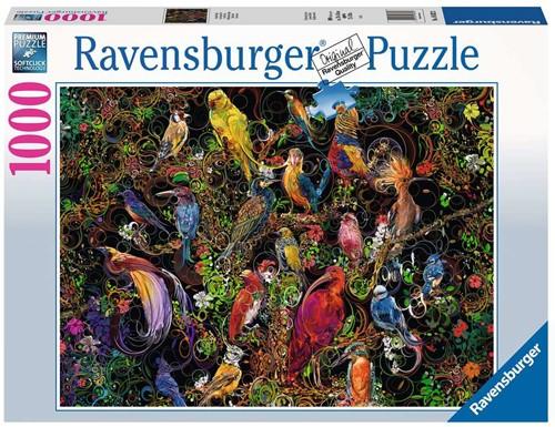 Schitterende Vogels Puzzel (1000 stukjes)