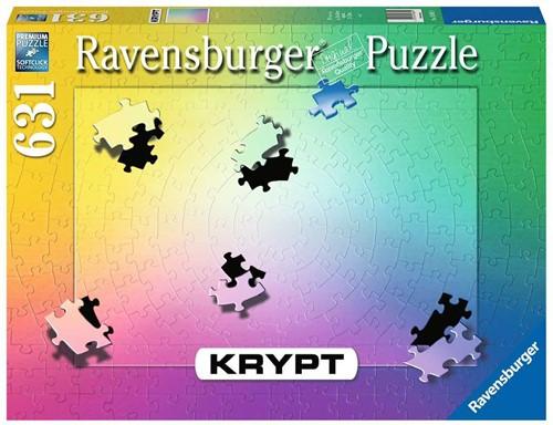 Krypt Gradient Puzzel (631 stukjes)