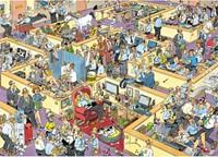 Jan van Haasteren - Het Kantoor Puzzel (1000 stukjes)-2