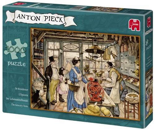 Anton Pieck - De Kruidenier Puzzel (1000 stukjes)-1