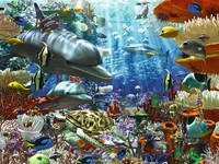 Leven onder Water Puzzel (3000 stukjes)-2