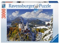 Slot Neuschwanstein in Winter Puzzel
