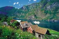 Sognefjord, Noorwegen Puzzel-2
