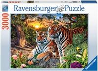 Verstopte Tijgers Puzzel (3000 stukjes)