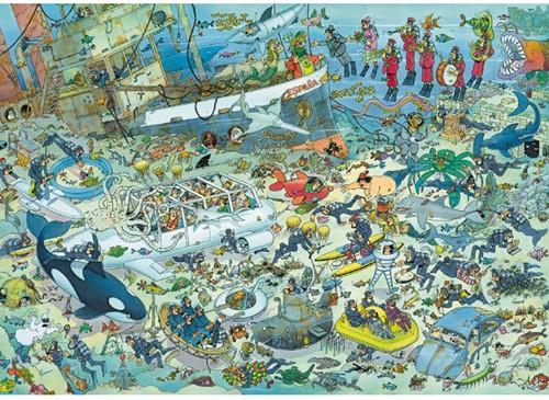 Jan van Haasteren - Onderwater Wereld Puzzel (1000 stukjes)-2