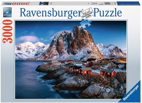 Hamnoy, Lofoten Puzzel (3000 stukjes)