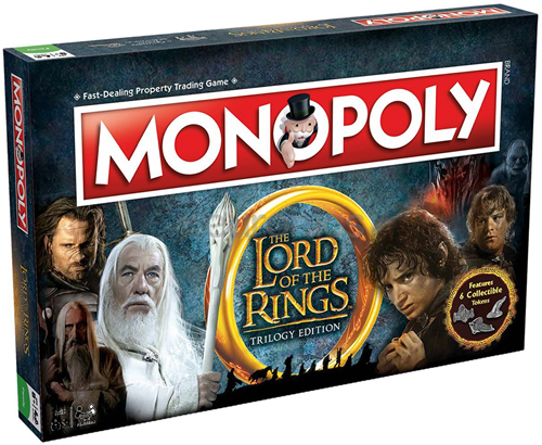 Monopoly - Lord of the Rings (Engels)
