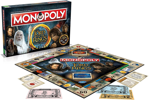 Monopoly - Lord of the Rings (Engels)-2