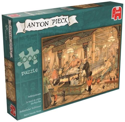 Anton Pieck - Poffertjeskraam Puzzel (1000 stukjes)-1
