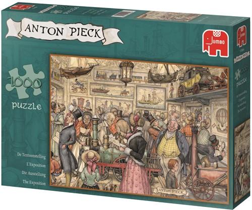 Anton Pieck - De Tentoonstelling Puzzel (1000 stukjes)-1