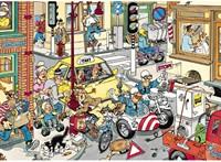 Jan van Haasteren Puzzel - Opzij! (150 stukjes)-2