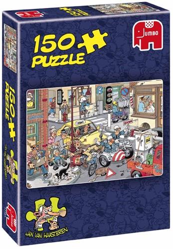 Jan van Haasteren Puzzel - Opzij! (150 stukjes)