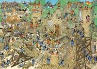 Jan van Haasteren - Middeleeuwen Puzzel (1000 stukjes)-2