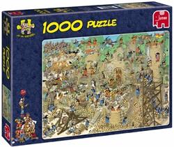 Jan van Haasteren - Middeleeuwen Puzzel (1000 stukjes)