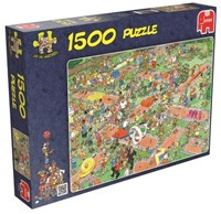 Jan van Haasteren - Midget Golf Puzzel (1500 stukjes)-1