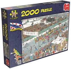 Jan van Haasteren - Elfstedentocht Puzzel (2000 stukjes)