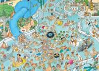 Jan van Haasteren - Subtropisch Zwemparadijs Puzzel (1500 stukjes)-2