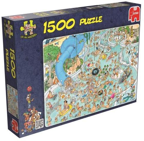 Jan van Haasteren - Subtropisch Zwemparadijs Puzzel (1500 stukjes)-1