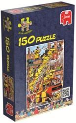 Jan van Haasteren - Brandje Blussen Puzzel (150 stukjes)