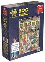 Jan van Haasteren - Perrongeluk Puzzel (500 stukjes)-1