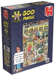 Jan van Haasteren - Perrongeluk Puzzel (500 stukjes)