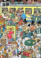 Jan van Haasteren - Perrongeluk Puzzel (500 stukjes)-2