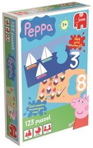 Peppa Pig 123 puzzel