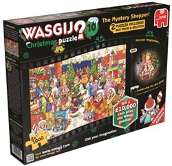 Wasgij Christmas 10: The Mystery Shopper 2 in 1 Puzzel