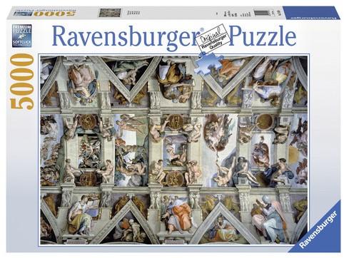 De Sixtijnse Kapel Puzzel (5000 stukjes)