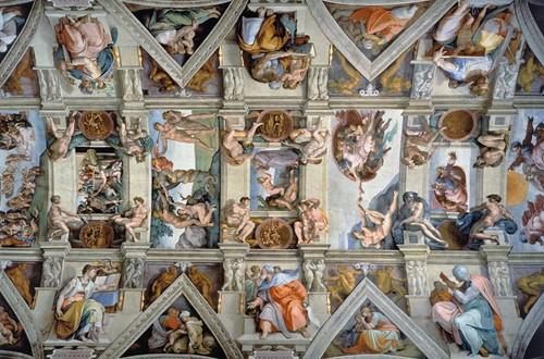 De Sixtijnse Kapel Puzzel (5000 stukjes)-2