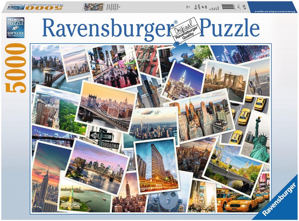 New York The City That Never Sleeps Puzzel 5000 Stukjes Kopen
