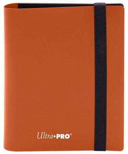 Pro-Binder 2-Pocket Eclipse Pumpkin Orange